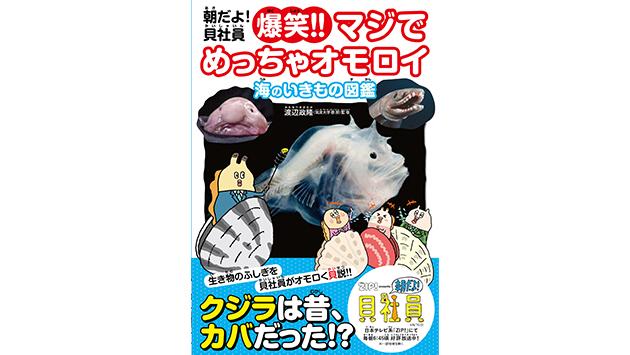笑えて、おもしろくて、ためになる!貝社員の『海の生き物図鑑』が登場!