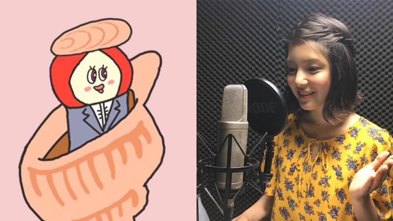 【朝だよ!貝社員】「ZIP!」総合司会の川島海荷さんが新キャラクターの声優に決定!!!