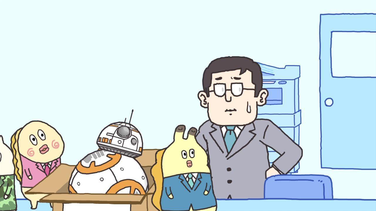 【貝社員】「朝だよ!貝社員」が 「スター・ウォーズ」祭りに参戦! 映画公開記念として特別回の放送が決定!