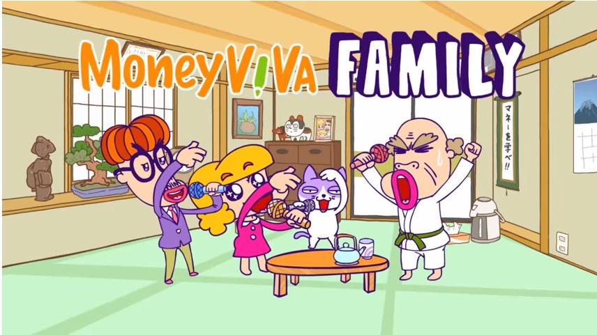 【MC Family】三井住友銀行様のMoney VIVA コンセプトムービーに起用されました。